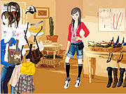 clique para juegos Kathryn In House Dressup