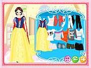 clique para juegos Snow White Dress Up