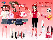 clique para juegos Sport Fan Dress Up