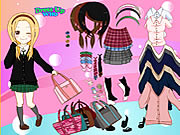 clique para juegos School Is Fun Dress Up