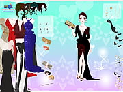 clique para juegos Gown Purse Dress Up