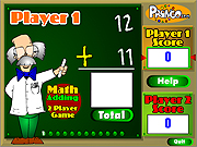 clique para juegos Two Player Math Game