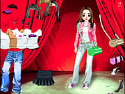 clique para juegos Stage Girl Dress Up