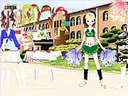 clique para juegos Cheerleader Dress Up