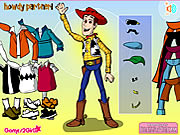 clique para juegos Woody Dress Up