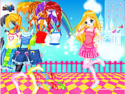 clique para juegos Dancing Madeline Dress Up