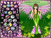 clique para juegos Forest Angel Dress Up