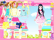 clique para juegos Pink Hearts Dress Up
