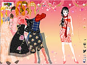 clique para juegos Funky Dresses Dress Up