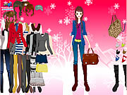 clique para juegos Winter Basics Dress Up