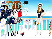 clique para juegos Navy Girl Dress Up