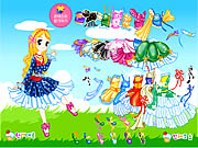 clique para juegos Little Sweetheart Dress Up