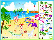 clique para juegos Sea Side Decoration