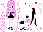 clique para juegos Kiss Doll Dress Up