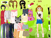 clique para juegos Cool for School Dress Up