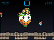 clique para juegos Super Mario World - Bowser Battle