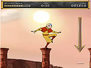 clique para juegos Avatar: The Last Air Bender - Aang On