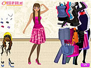 clique para juegos Dress Up A Slender Girl