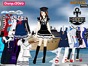 clique para juegos Tandy Sailor Girl Dressup Game
