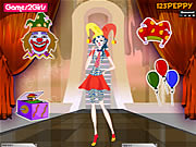 clique para juegos Billy Clown Girl Dressup