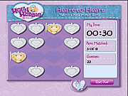 clique para juegos Hollie Hobbie and Friends - Heart to Heart: Two of A Kind Match Game