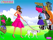 clique para juegos Girl and Pet Dress up