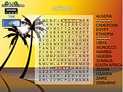 clique para juegos Word Search Gameplay 5 - Africa
