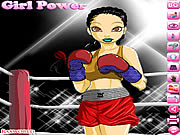 clique para juegos Boxing Girl Dress Up