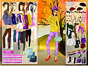 clique para juegos Autumn in the Park Dress Up