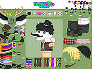 clique para juegos Dirty Socks Dress Up