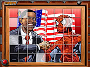 clique para juegos Sort My Tiles Obama and Spiderman