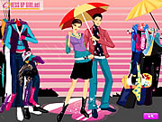 clique para juegos Colors Of The Rain Dressup