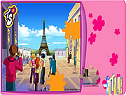 clique para juegos Totally Spies Puzzle - Eiffel Tower