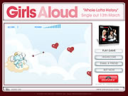 clique para juegos Girls Aloud - Mend A Broken Heart Game