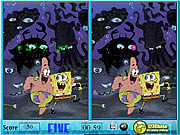 clique para juegos Sponge Bob Spot The Difference