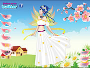 clique para juegos Flower Fairy Cutie Dress Up