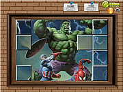 clique para juegos Photo Mess - Hulk With Friends