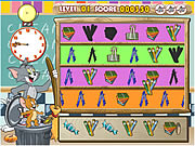clique para juegos Tom And Jerry Classroom Clean Up