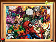 clique para juegos Spiderman VS Villains Fix My Tiles