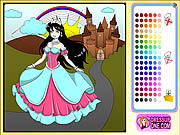 clique para juegos Castle Of Princess Coloring Game