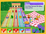 clique para juegos Dora's Do-Together Food Pyramid
