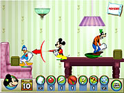 clique para juegos Mickey And Friends In Pillow Fight