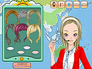 clique para juegos Weather Girl Make Up Game