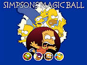 clique para juegos Simpsons Magic Ball