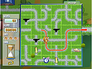 clique para juegos Tom And Jerry In Cheese Chasing Maze