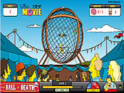 clique para juegos Simpsons The Ball of Death