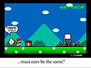 clique para juegos Mario: Back to the Start