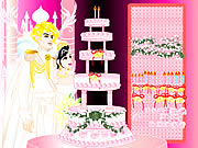 clique para juegos Design your Wedding Cake