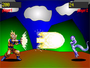 clique para juegos Dragon Ball Z - Flash Dimension