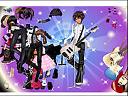 clique para juegos Rock Girl Dress Up